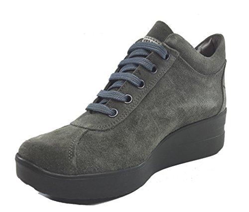 Tomax , Chaussures de ville à lacets pour femme Gris
