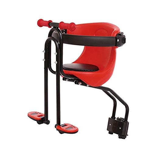 ZGYQGOO Mountainbike-Kindersitz mit Schwammschutz und Handlauf, Fahrrad-Baby-Vordersitz