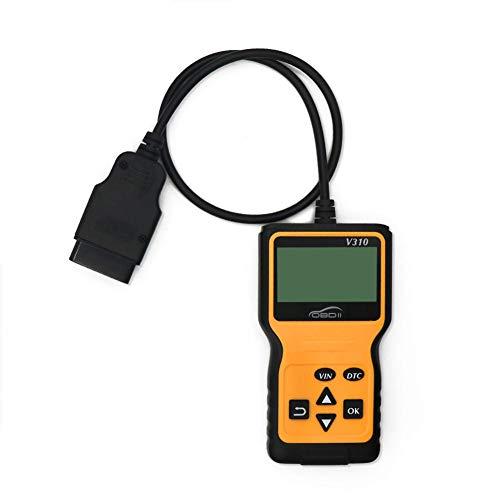 Preisvergleich Produktbild OBD2 Diagnosegerät AUTOOL OBD2 Diagnose Scanner Motor Kühlmittel Temp Auto Speed Probe OBDII Diagnosewerkzeug mit 2.8 zoll Bildschirm,  Automatische Erkennung und Decodierung von Fahrzeug ID Nummern