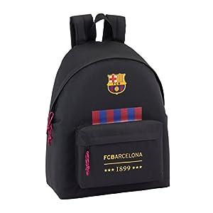 41rSDOrOiNL. SS300  - Safta FC Barcelona Oficial Mochila juvenil Day Pack Liso 330x150x420mm, Negro