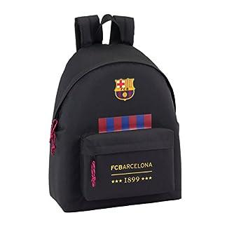 41rSDOrOiNL. SS324  - Safta FC Barcelona Oficial Mochila juvenil Day Pack Liso 330x150x420mm, Negro