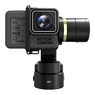 FeiyuTech WG2 3-Axis Wearable Gimbal, Suitable for Action Camera GoPro Hero 5, HERO 4, Session, Yi 4K, AEE, SJCam etc. IP67 Waterproof, Autorotation, Two Axis Unlimited Rotating, Bluetooth Control (B071L93YDV) | Amazon price tracker / tracking, Amazon price history charts, Amazon price watches, Amazon price drop alerts