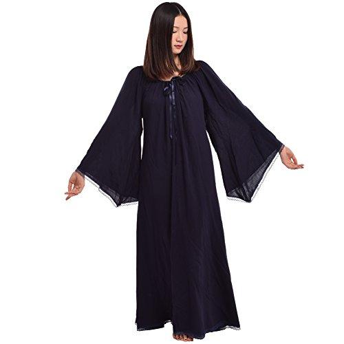 BLESSUME Mittelalterliche Renaissance Frauen Kleid Brau (XL)