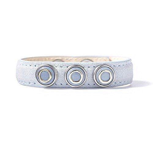 Noosa petite Armband wrap classic skinny ocean blue pastel, Größe:M