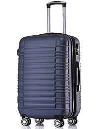BEIBYE Zwillingsrollen Hardcase Reisekoffer Koffer Trolleys Hartschale in XL-L-M in 14 Farben