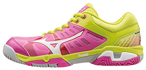 check out a517d 9122c Mizuno Wave Exceed SL AC Wos, Chaussures de Tennis Femme, Rose (Electric