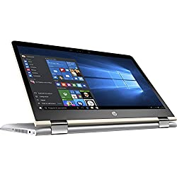 "HP Pavilion x360 14-ba004ns - Ordenador Portátil 14"" FullHD (Intel Core i7-7500U, 8 GB RAM, 1 TB HDD, Intel Graphics, Windows 10), Plateado - Teclado QWERTY Español"