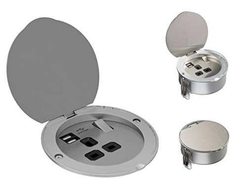 ML547–13A 1G conector para cable de alimentación (con cargador USB doble puertos...