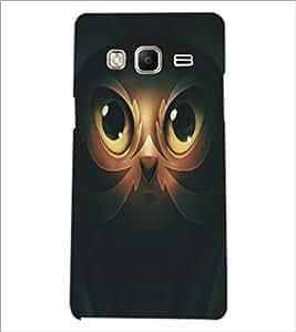 PrintDhaba Owl Man D-5365 Back Case Cover for SAMSUNG Z3 (Multi-Coloured)