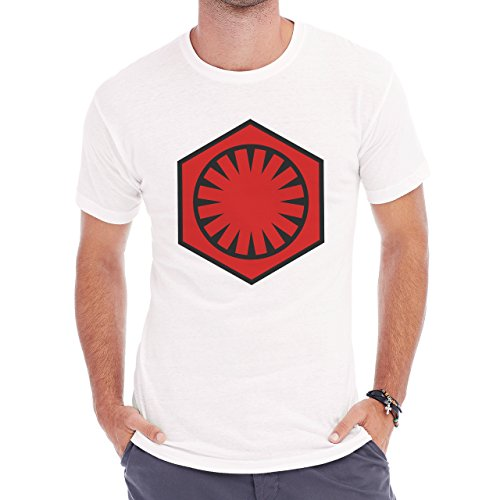 Emblem Of The First Order Herren T-Shirt Weiß