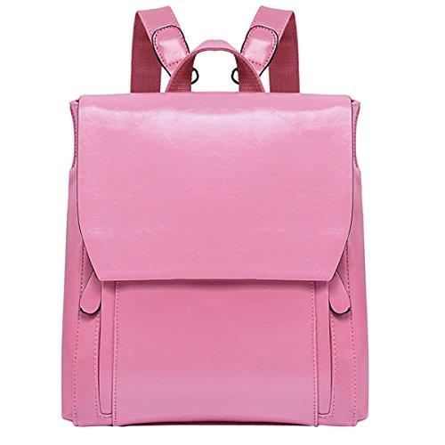 Donne Borsa A Tracolla Moda Borsa Da Viaggio Borsa Da Scuola Pink