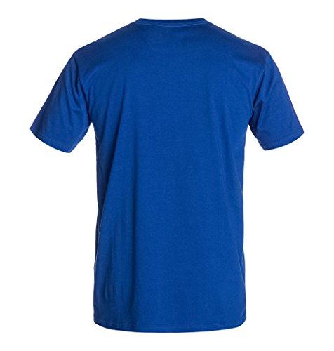 DC Shoes Herren T-Shirt Rd Alumni 3 Tee M Tees, Einfarbig Royal Blue