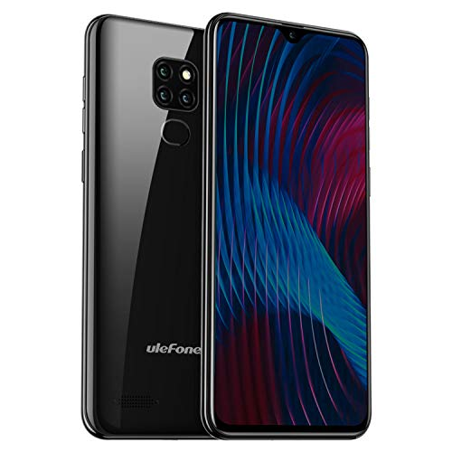 Ulefone Note 7P Smartphone ohne Vertrag, Handy 3GB+32GB (128GB erweiterbar), 6.1 Zoll In-Cell Display, Triple Kamera 8MP+2MP+ 2MP, Dual SIM 4G LTE, Android 9.0, GPS, WLAN, Bluetooth - Twilight