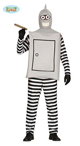 Roboter - Kostüm für Erwachsene Gr. M/L, Größe:L