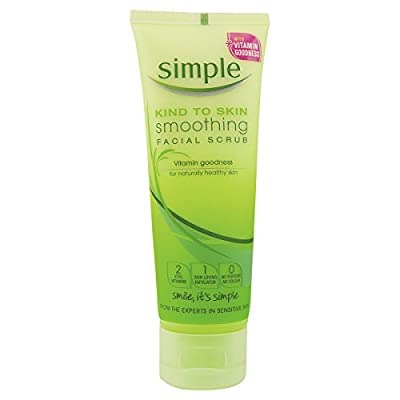 Simple Kind To Skin Smoothing Facial Scrub 75 ml by Simple H&b Ltd