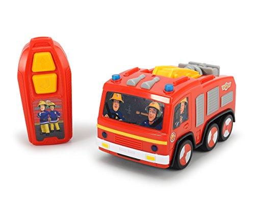 IRC Feuerwehrmann Sam ferngesteuertes Auto Jupiter thumbnail