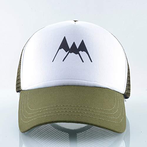 Tourist-mesh-hut (WBSNA Herren Baseball Cap Sommer Mesh Visier Hüte für Frauen Outdoor atmungsaktiv Racing Hut Liebhaber Streetwear verstellbare Kappe,01)