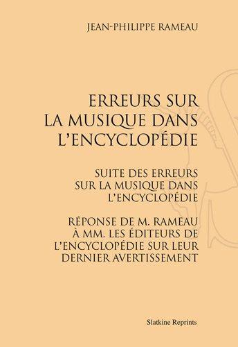Erreurs Sur la Musique Dans l'Encycl...