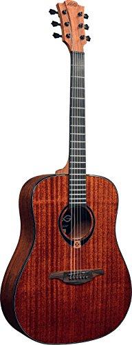 Guitarra acustica lag dreadnought caoba