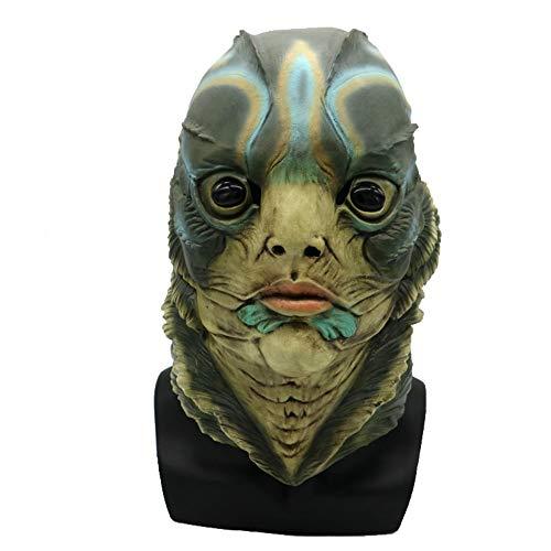 Damofy Halloween Maske, Neuheit Halloween Kostüm Party Vollkopf Masken Lustige Latex Tierkopf Maske für Halloween Cosplay