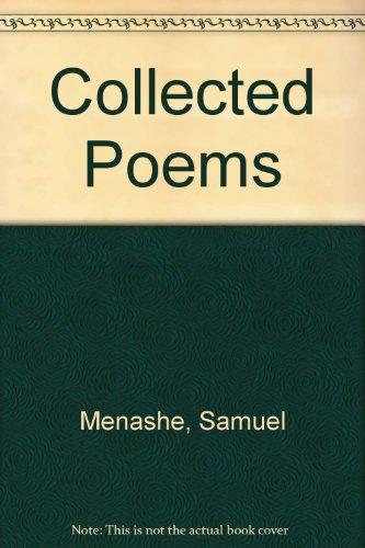 Samuel Menashe Poetryarchiveorg