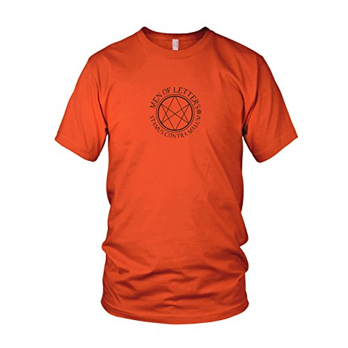 Men of Letters - Herren T-Shirt Orange