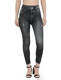 N-Gal Fashion Printed Leggings-NJ9062