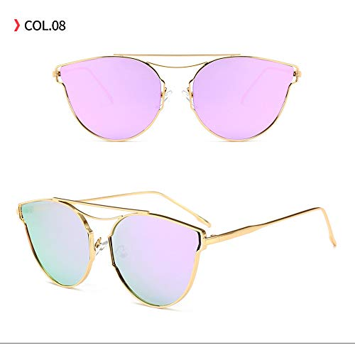 Yangjing-hl Netzbrille für Damen und Herren, Rot, violett, Einheitsgröße