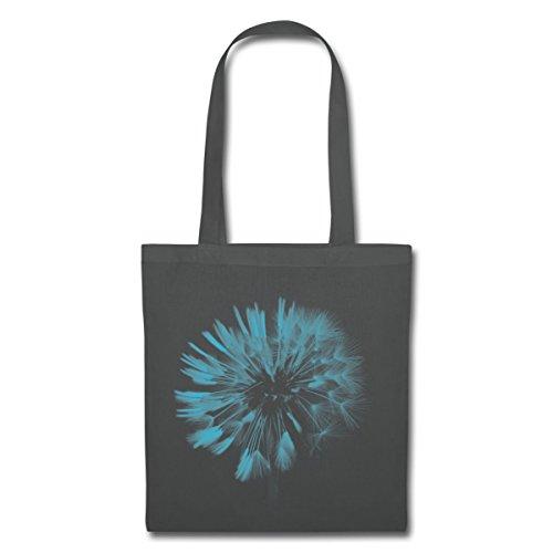 Spreadshirt Dandelion Dandelion Cloth Bag Graphite