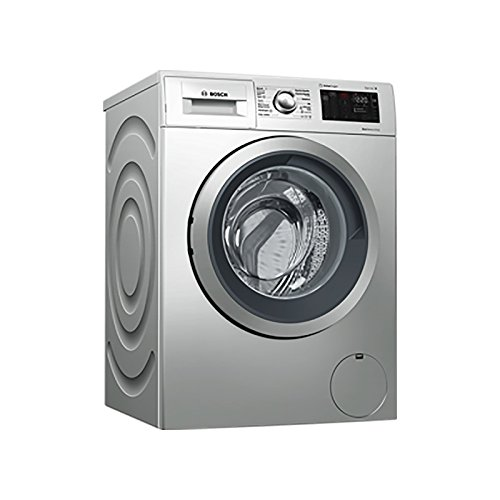 Bosch Serie 6 WAT2876XES Independiente Carga frontal 8kg 1400RPM A+++-30% Acero inoxidable...