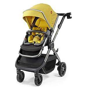 Diono Quantum2 3-in-1 Luxury Muti-Mode Stroller, Yellow Sulphur   10