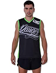 Danger Sleeveless Camiseta interior MMA Muay Thai Fightwear, L