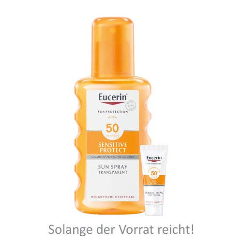 Eucerin Sun Transparent S 200 ml