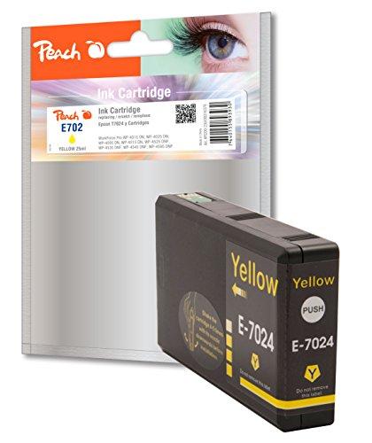 Preisvergleich Produktbild Peach Tintenpatrone gelb kompatibel zu Epson T7024