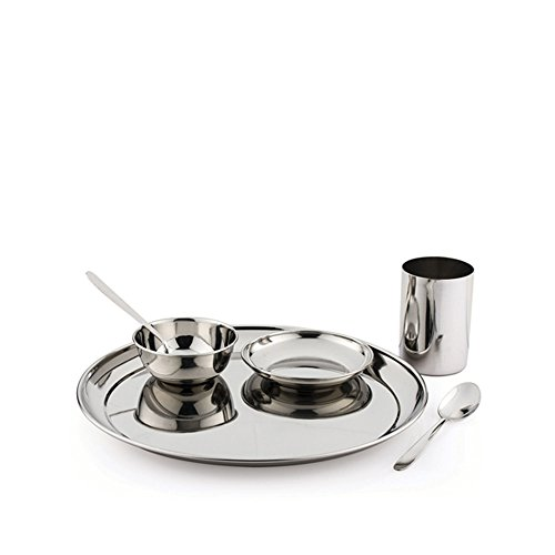 Pigeon Sparkle Lunch Set, 6-Pieces  available at amazon for Rs.367