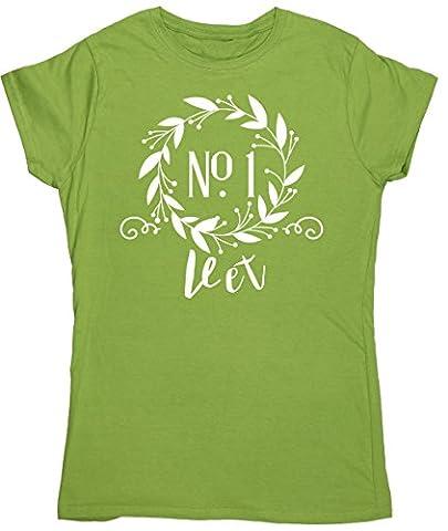 HippoWarehouse - T-shirt - Femme X-Large - vert - X-Large