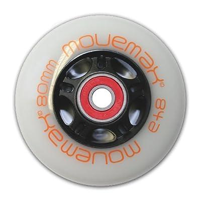 Movemax Speedwheel 80mm inkl. Kugellager für Streetsurfing Waveboards