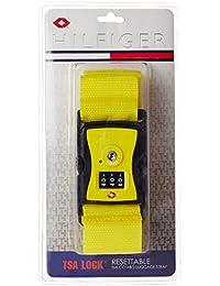 Tommy Hilfiger Yellow Luggage Strap (TH/TSA14A22)