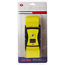 Tommy Hilfiger Yellow Luggage Strap (TH/TSA14A22)