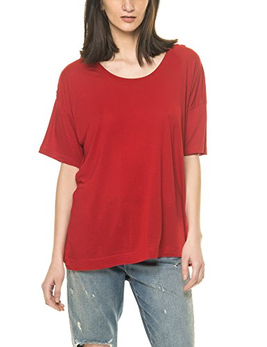 dr-denim-jeansmakers-womens-jackie-womens-red-t-shirt-in-size-s-red