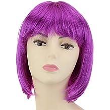 Cisne 2013, S.L. Peluca para Mujer Longbob Disco Party Corta para Fiesta Disfraz. Peluca