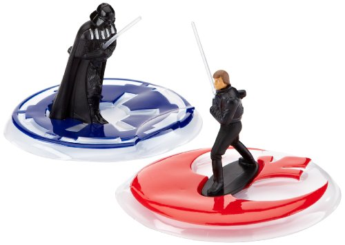 Tortendeko Set Star Wars Darth Vader vs. Luke Skywalker