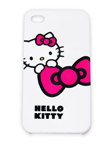Hello Kitty Faceplate Cover Schutzhülle für iPhone 4 weiss