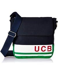 5e7fa7fa13df United Colors of Benetton Fabric 23 cms Blue Gym Shoulder Bag  (18A6MBAG6684I)