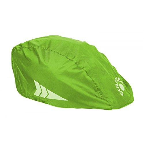 Helm-Regenüberzug Universal Regenschutz für Fahrradhelme Regenkappe Schutzbezug, Farbe: Grün, Größe: Einheitsgröße