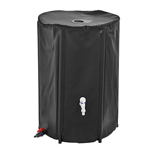 [casa.pro]®] Récupérateur d'eau PVC Inoxydable et Résistant aux UV 250 litres de Capacité 60 x 88 cm