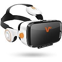 VOX BE 3D VR Lunettes Réalité Virtuelle Casque VR pour jeux et films compatible avec les iPhone 7/7 Plus/6S/6Plus/Samsung Galaxy/HTC/HUAWEI/Sony/LG autres smartphones sous Android/IOS 4.0 à 6.2