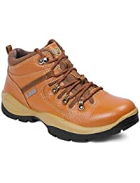 Red Chief Tan Leather Men's Casual Shoes
