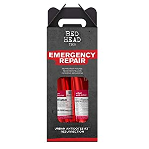 BED HEAD By TIGI Urban Antidotes Resurrection Repair Shampoo and Conditioner Pack of 2