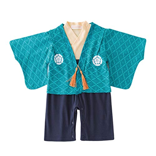 Amosfun Bebé Kimono Bata Manga Larga recién Nacido